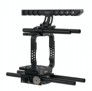 IKAN ELE-ME200-RIG CANON ME200 COMPLETE CAMERA RIGWITH TOP HANDLE, RODS Y ROSEARM MONITOR MOUNT